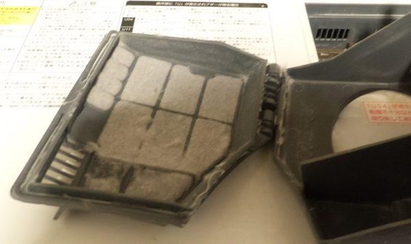Panasonic洗濯機手前フィルター01