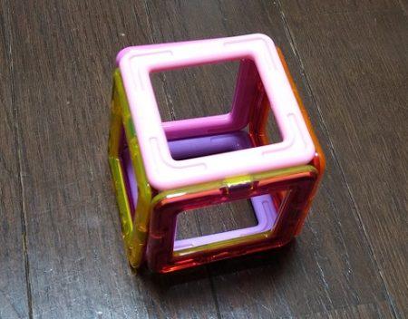 マグフォーマー立方体展開図04