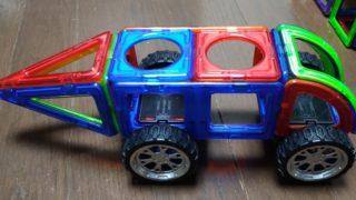 マグフォーマー車01